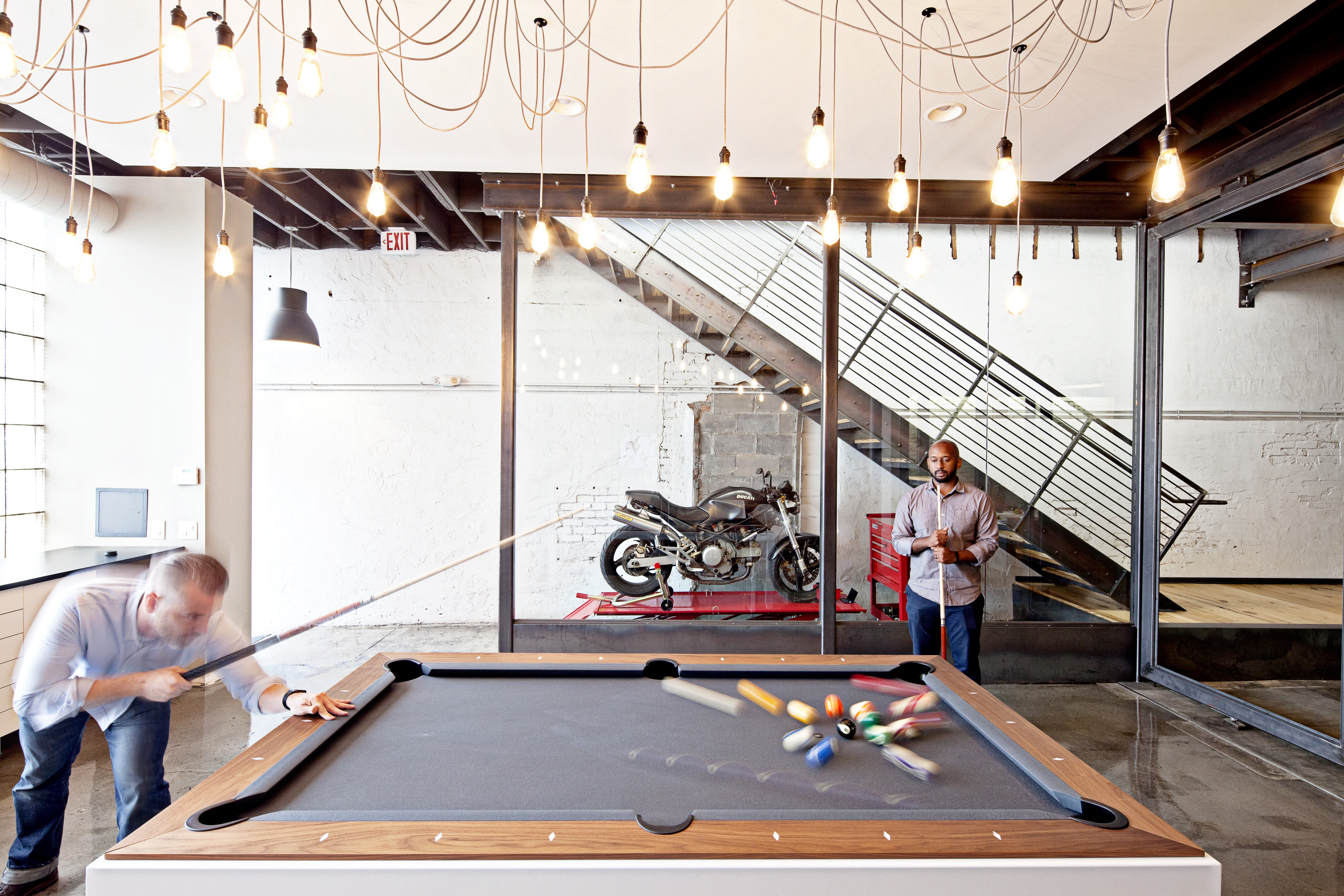 Fusion Table Pendulums Blog - Pool table conference room table